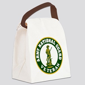 ARNG-Veteran-3-Green Canvas Lunch Bag
