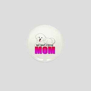 Bichon Frise Mom Mini Button