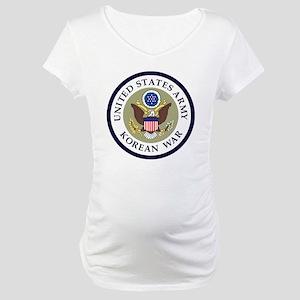 ARMY-Korean-War-Veteran-Bonnie-2 Maternity T-Shirt