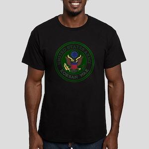 ARMY-Korean-War-Vetera Men's Fitted T-Shirt (dark)