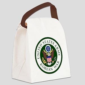 ARMY-Korean-War-Veteran-Bonnie.gi Canvas Lunch Bag