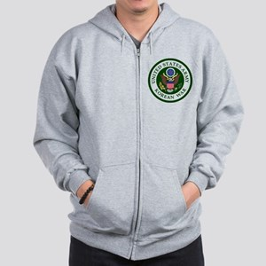 ARMY-Korean-War-Veteran-Bonnie Zip Hoodie