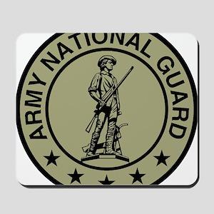 ARNG-Logo-Black-Olive Mousepad