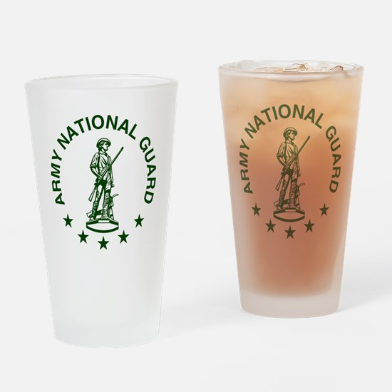 ARNG-LOGO-Green-For-Yellow-Shirt.gi Drinking Glass