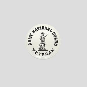 ARNG-Veteran-Green-White Mini Button