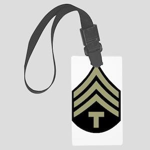 Army-Tech-3-Dark-Shirt Large Luggage Tag
