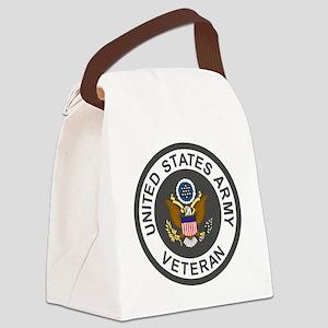 Army-Veteran-Army-Green-3 Canvas Lunch Bag