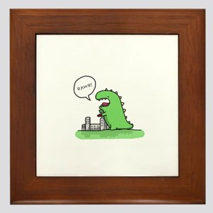 Rawr Framed Tile