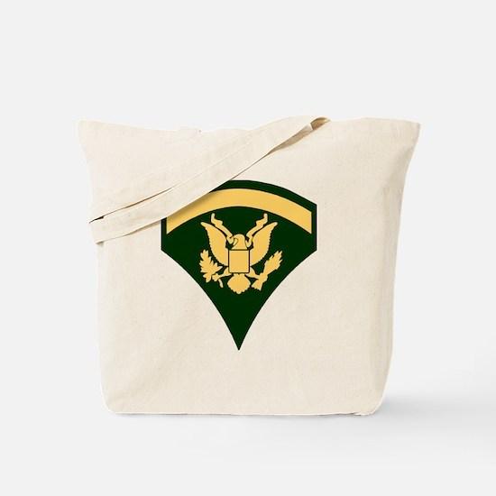 Army-Spec5-Green-Da... Tote Bag