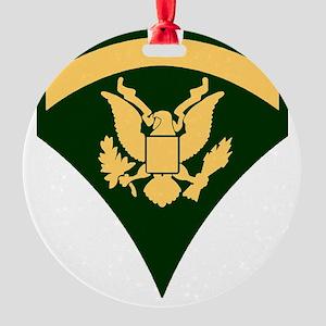Army-Spec5-Green-Da... Round Ornament