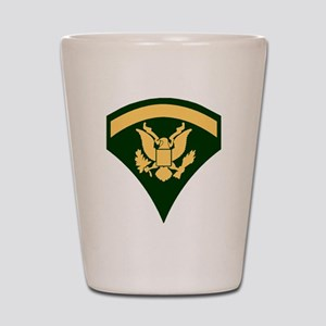 Army-Spec5-Green-Da... Shot Glass