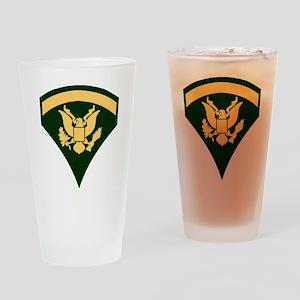 Army-Spec5-Green-Da... Drinking Glass