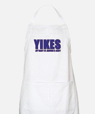 My baby is having a baby BBQ Apron