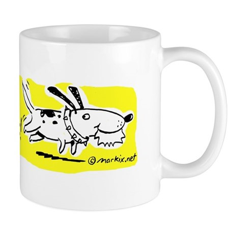 the dog ate my lesson plans -- Mug (Y)
