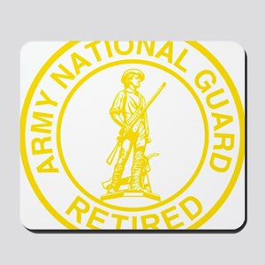 ARNG-Retired-Gold-Dark-Shirt Mousepad
