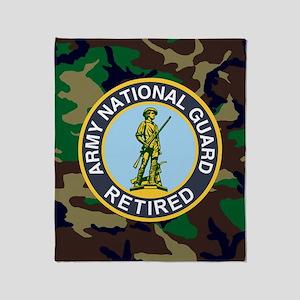 ARNG-Retired-Mousepad-Woodland Throw Blanket