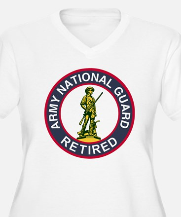 ARNG-Retired-Red- T-Shirt