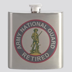 ARNG-Retired-Red-Blue Flask