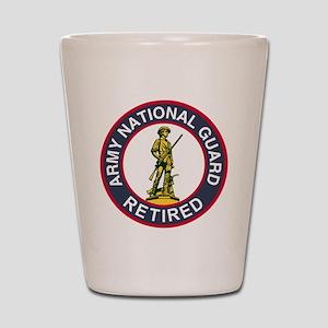 ARNG-Retired-Red-Blue Shot Glass