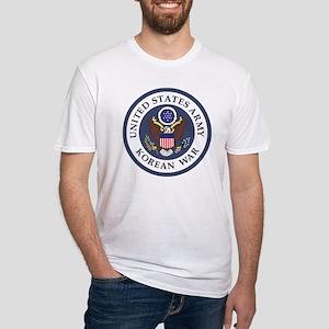 ARMY-Korean-War-Veteran-Bonnie-3.gi Fitted T-Shirt