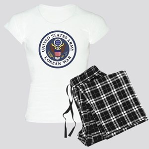 ARMY-Korean-War-Veteran-Bon Women's Light Pajamas