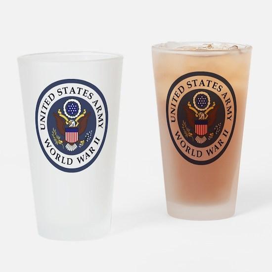ARMY-WWII-Veteran-Bonnie-3.gif Drinking Glass