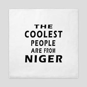 The Coolest Niger Designs Queen Duvet