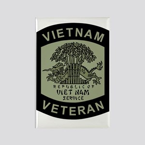 Military-Patch-Vietnam-Veteran-Bo Rectangle Magnet