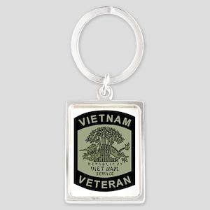 Military-Patch-Vietnam-Veteran-B Portrait Keychain