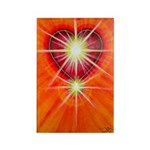 Love is Light Rectangle Magnet