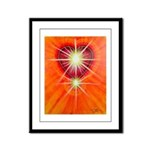 Love is Light Framed Panel Print