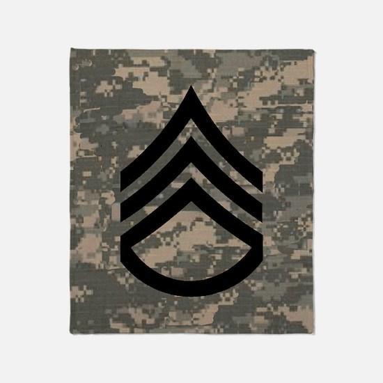 Army-SSG-Subdued-Tile-ACU Throw Blanket