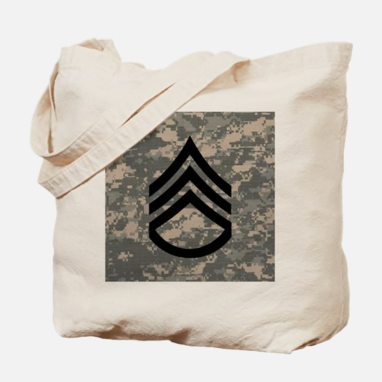 Army-SSG-Subdued-Tile-ACU Tote Bag