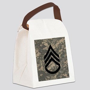 Army-SSG-Subdued-Tile-ACU Canvas Lunch Bag