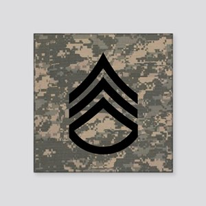 """Army-SSG-Subdued-Tile-ACU Square Sticker 3"""" x 3"""""""