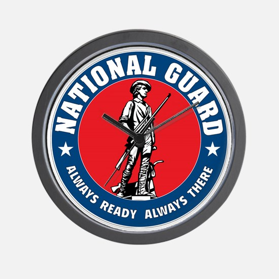 ARNG-Logo-Vehicle.gif Wall Clock