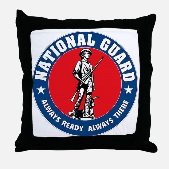 ARNG-Logo-Vehicle.gif Throw Pillow