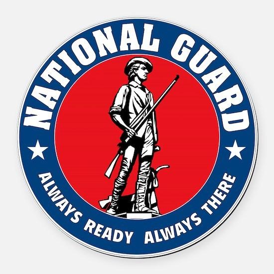 ARNG-Logo-Vehicle.gif Round Car Magnet