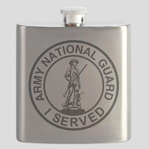 ARNG-Veteran-Green Flask