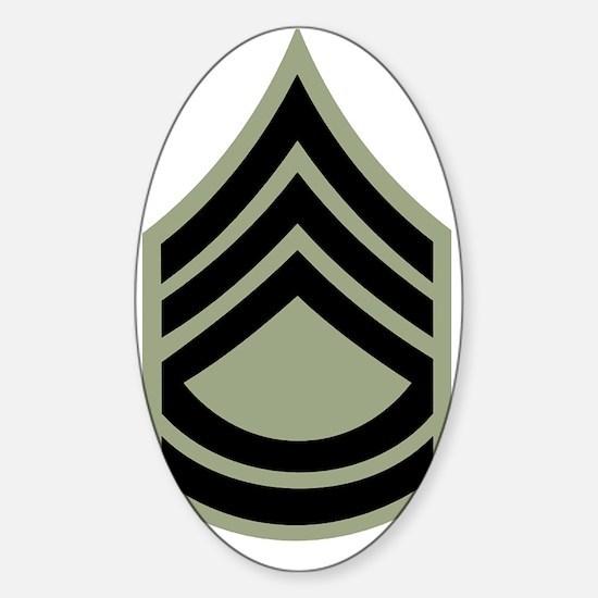 Army-SFC-Vietnam-Era-X.gif Sticker (Oval)