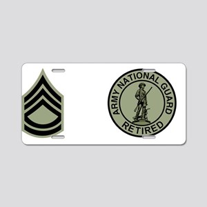 ARNG-SFC-Mug-2 Aluminum License Plate