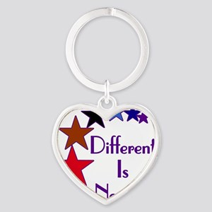 Different-Is-Normal-Stars-For-Blue- Heart Keychain