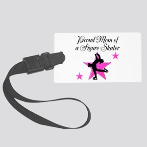 SKATING MOM Large Luggage Tag