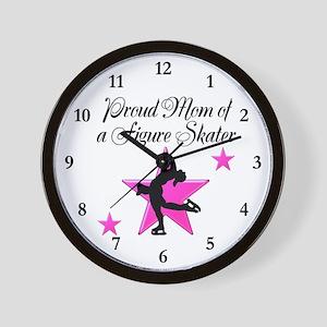 SKATING MOM Wall Clock