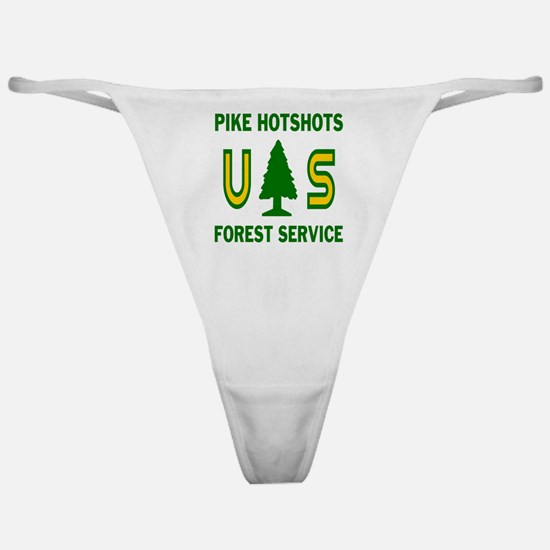 Pike-Hotshots-Shirtback Classic Thong
