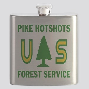 Pike-Hotshots-Shirtback Flask
