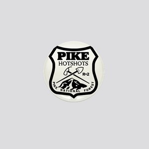 Pike-Hotshots-Black-White Mini Button