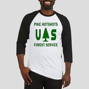 Pike-Hotshots-Shirtback-Green Baseball Jersey