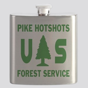 Pike-Hotshots-Shirtback-Green Flask