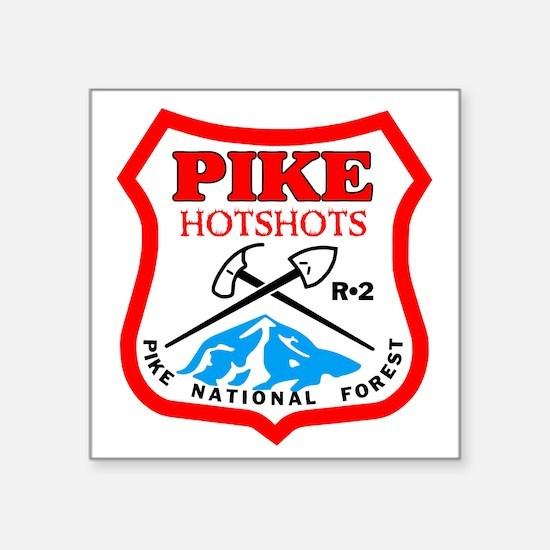 "Pike-Hotshots-Bonnie Square Sticker 3"" x 3"""